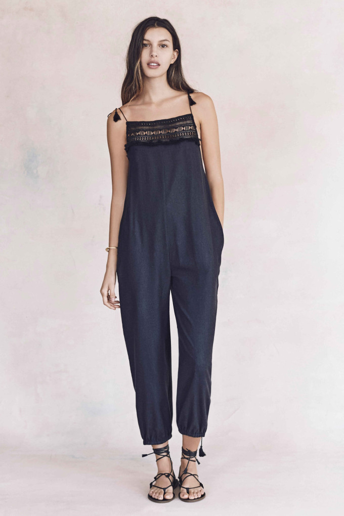 Madewell just released their spring 2016 collection, and trust me, you are going to be clamoring for every single piece. It's just so wearable. - Madewell Spring 2016 Lookbook - Embroidered Overalls
