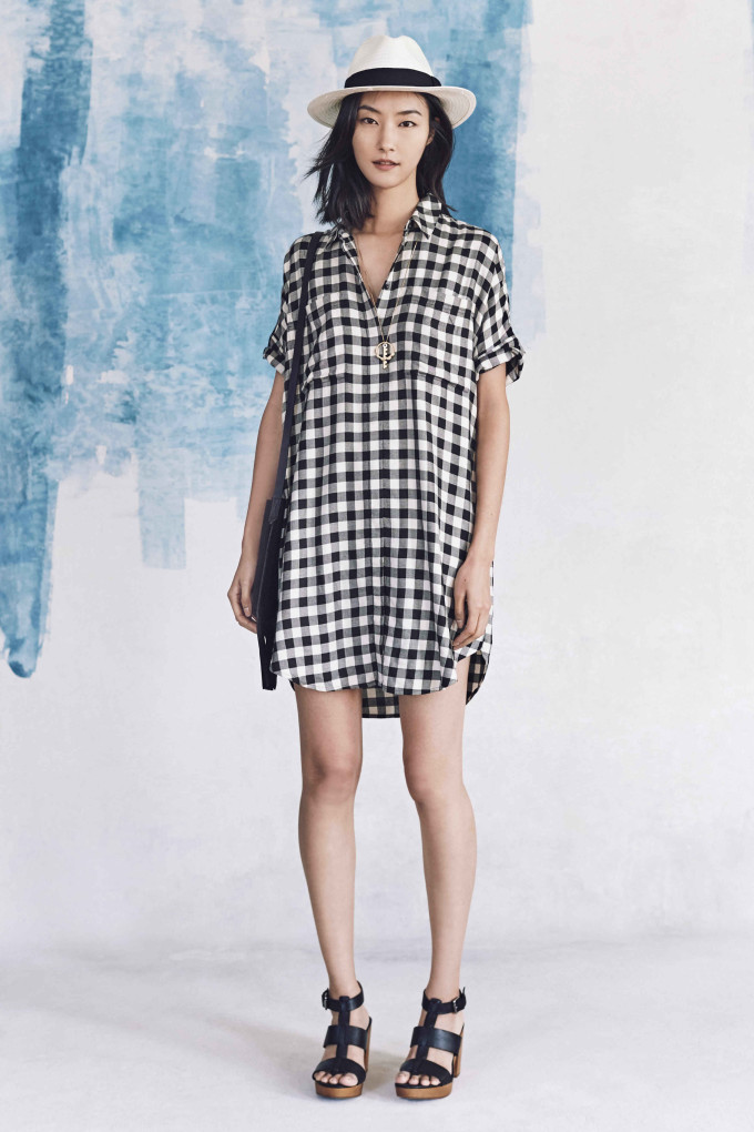 Madewell just released their spring 2016 collection, and trust me, you are going to be clamoring for every single piece. It's just so wearable. - Madewell Spring 2016 Lookbook - Gingham Dress