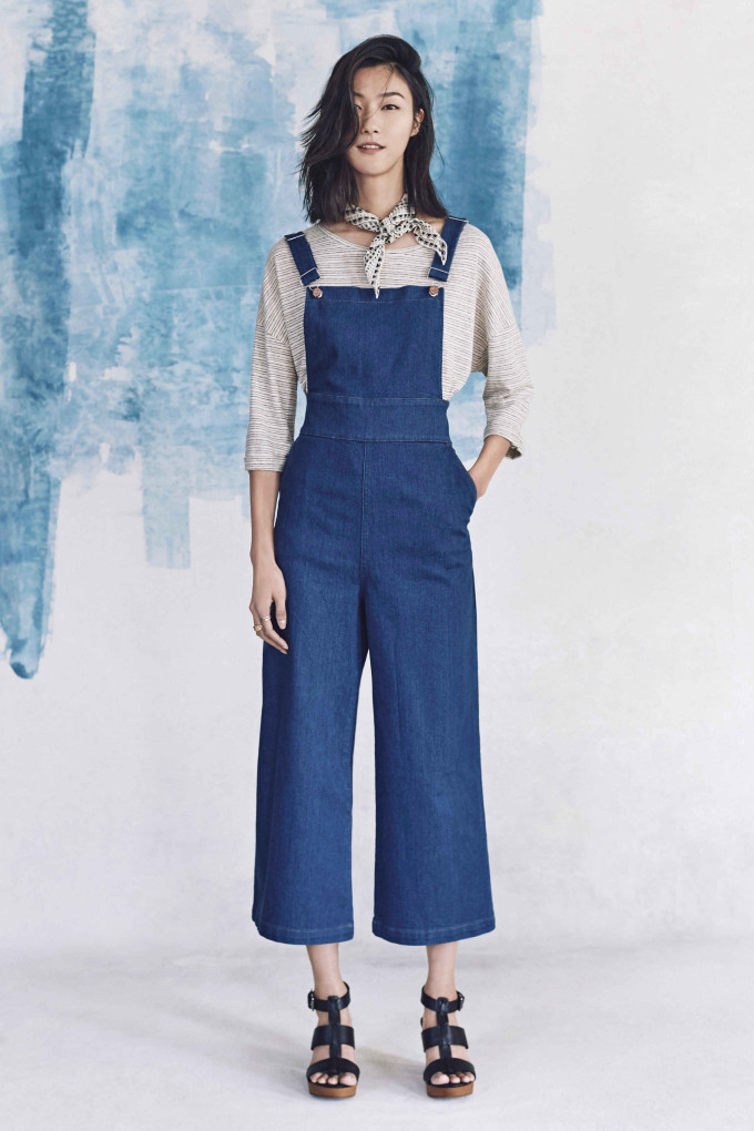 Madewell just released their spring 2016 collection, and trust me, you are going to be clamoring for every single piece. It's just so wearable. - Madewell Spring 2016 Lookbook - Overalls