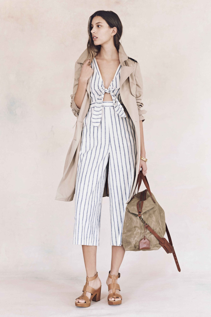 Madewell just released their spring 2016 collection, and trust me, you are going to be clamoring for every single piece. It's just so wearable. - Madewell Spring 2016 Lookbook - Stripes