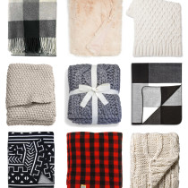 My Favorite Throw Blankets for Fall and Winter