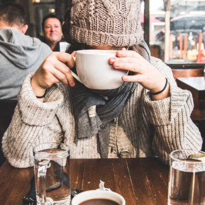 camera shy girlfriend - coffee - mikael theimer