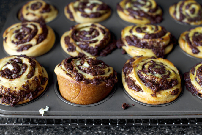 21 Favorite Brunch Recipes (Perfect for Easter!): Chocolate Swirl Buns