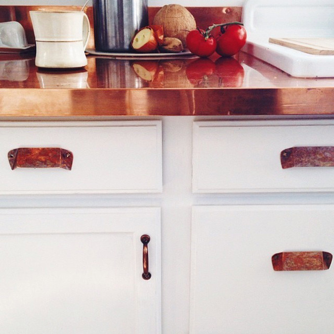 How to Style Copper in the Kitchen: Copper Kitchen Counters
