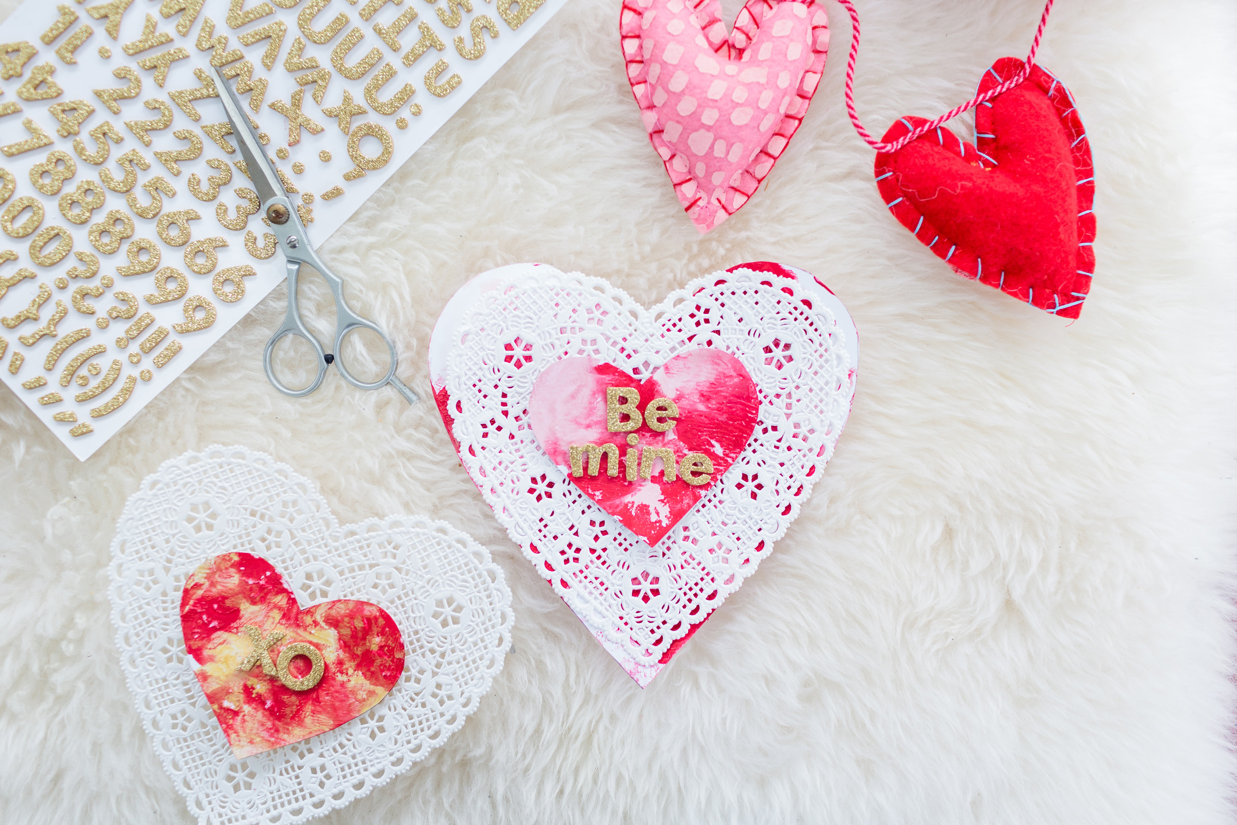 ToddlerFriendly and MessFree DIY Painted Valentines Day – Toddler Valentines Day Cards