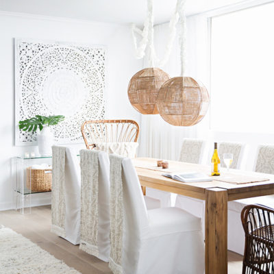 A Mostly White Morocco-Inspired Home Design