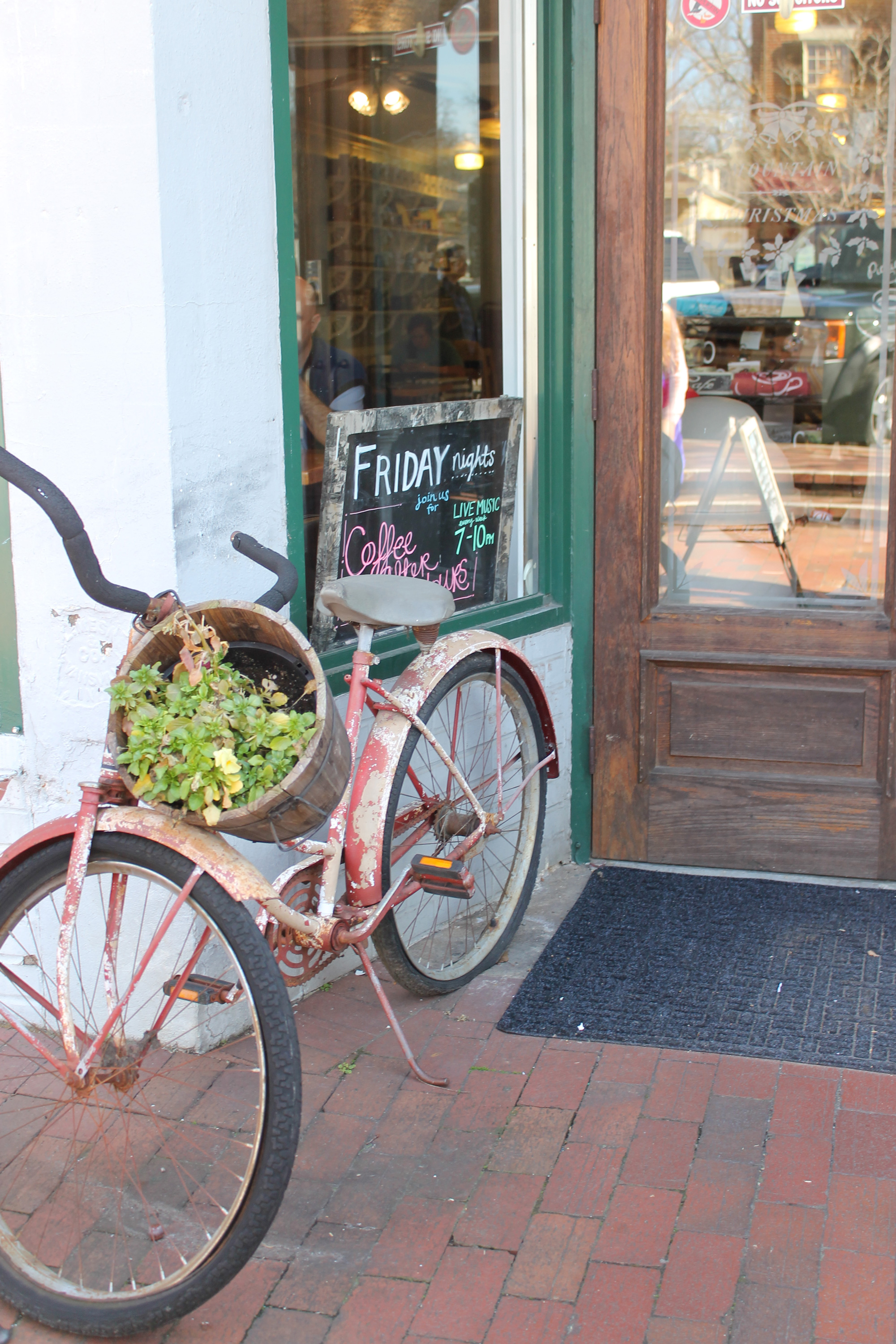 Downtown Dahlonega Vintage Bicycle