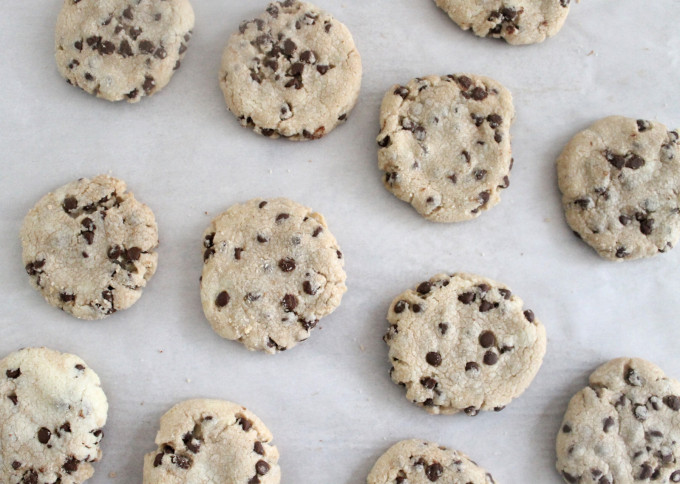 The Best Vegan Chocolate Chip Cookies you will ever have! (These chocolate chip cookies don't use any eggs, milk, or butter, and still miraculously taste just like classic homemade chocolate chip cookies!)