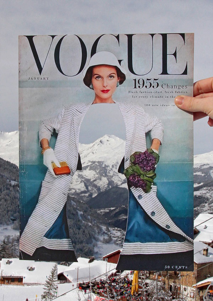 Vintage Vogue Covers and Natural Landscapes | Glitter, Inc ...
