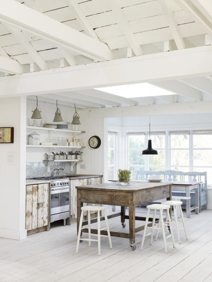 an english white cabin beach home tour glitter inc