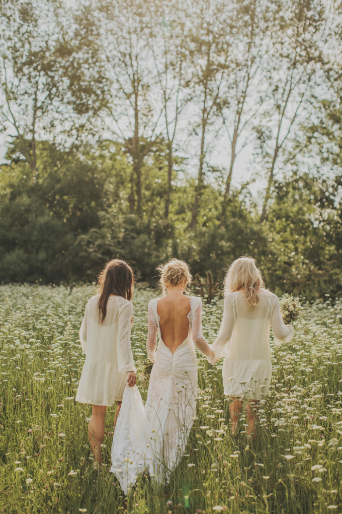 Wedding Style: Drop-waist Bridesmaids Dresses (and where to get the look for under $50!)