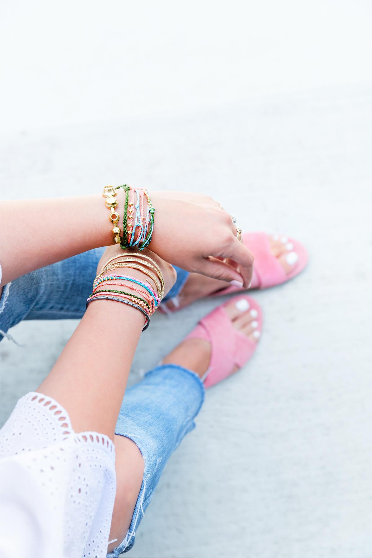 DIY Summer Bracelets