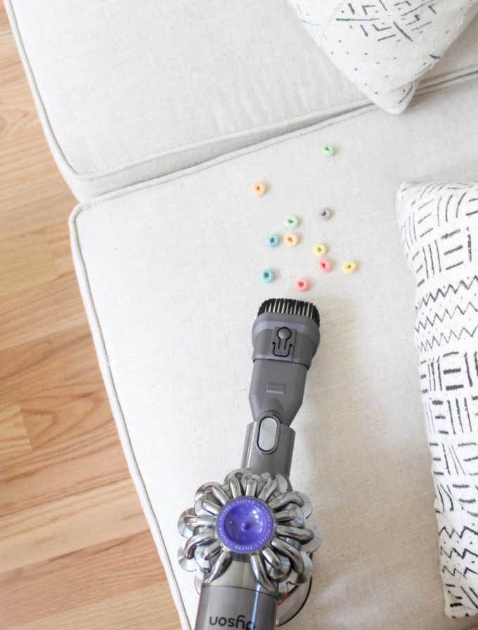 Parenting Must-Have: Dyson V6 Cord-Free Vacuum