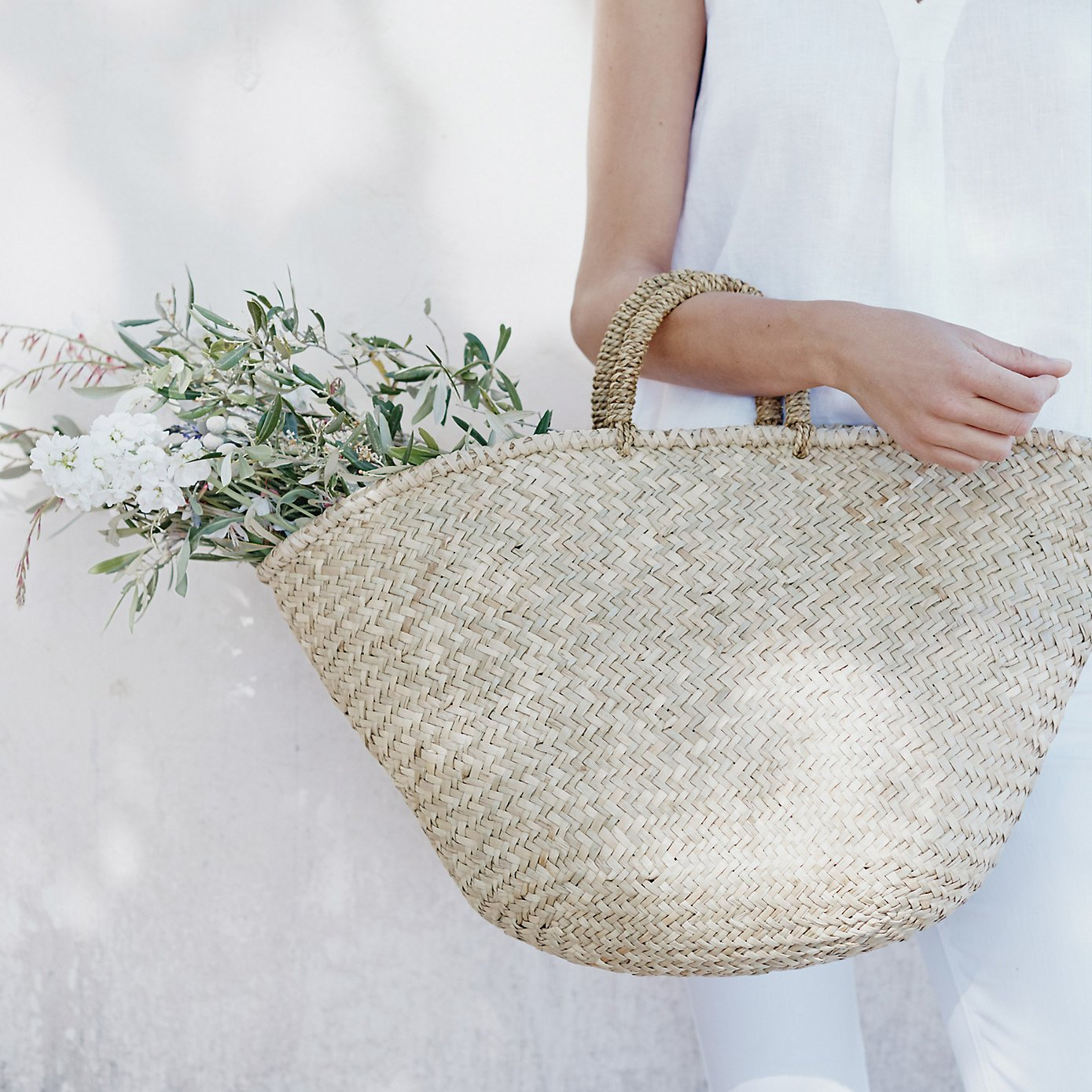 15 Favorite French Market Baskets, like this French Market Straw Basket