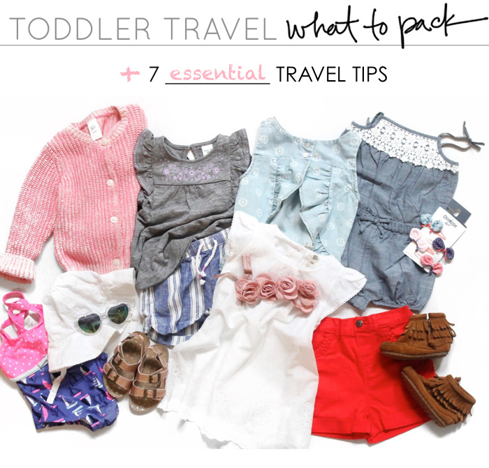 I'm sharing my essential tips and tricks for packing and traveling with a toddler. Hope it helps you on your next family adventure!