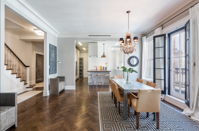 Modern Manhattan Apartment with a Key to Gramercy Park - Dining Room
