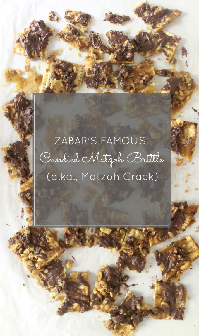 How to Make Zabar's Famous Candied Caramel Nut and Chocolate Matzoh Brittle (a.k.a., Passover Candy Crack) #Recipe