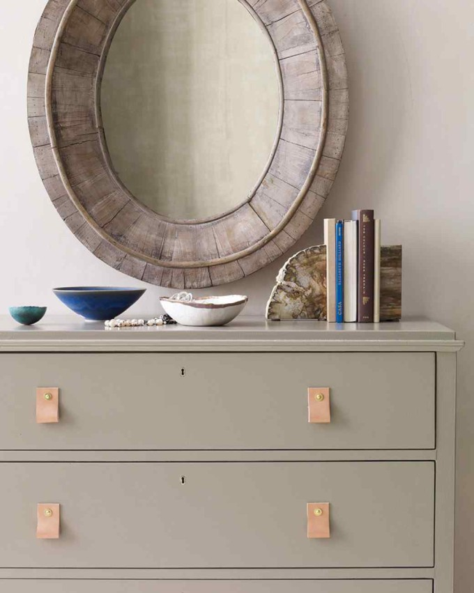 Design Dreaming: Leather Cabinet and Drawer Pulls   Glitter, Inc ...