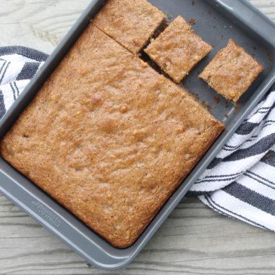 Healthier Vegan Banana Cake With Almond Flour
