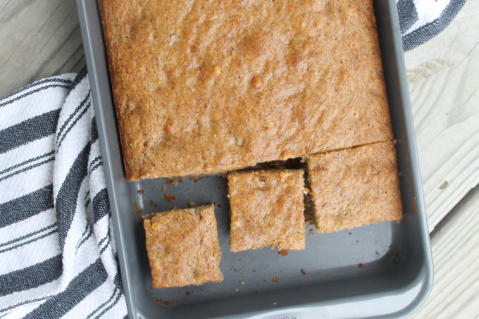Healthier Vegan Banana Cake With Almond Flour (You'll never be able to tell this moist, fluffy cake doesn't have any dairy or eggs!)