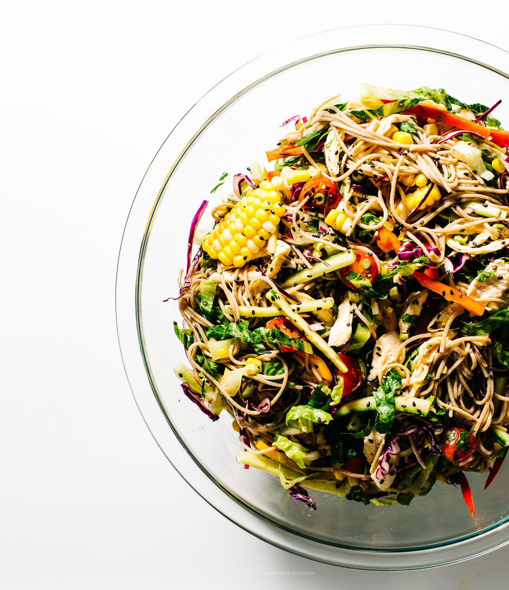 Cold Soba Summer Salad