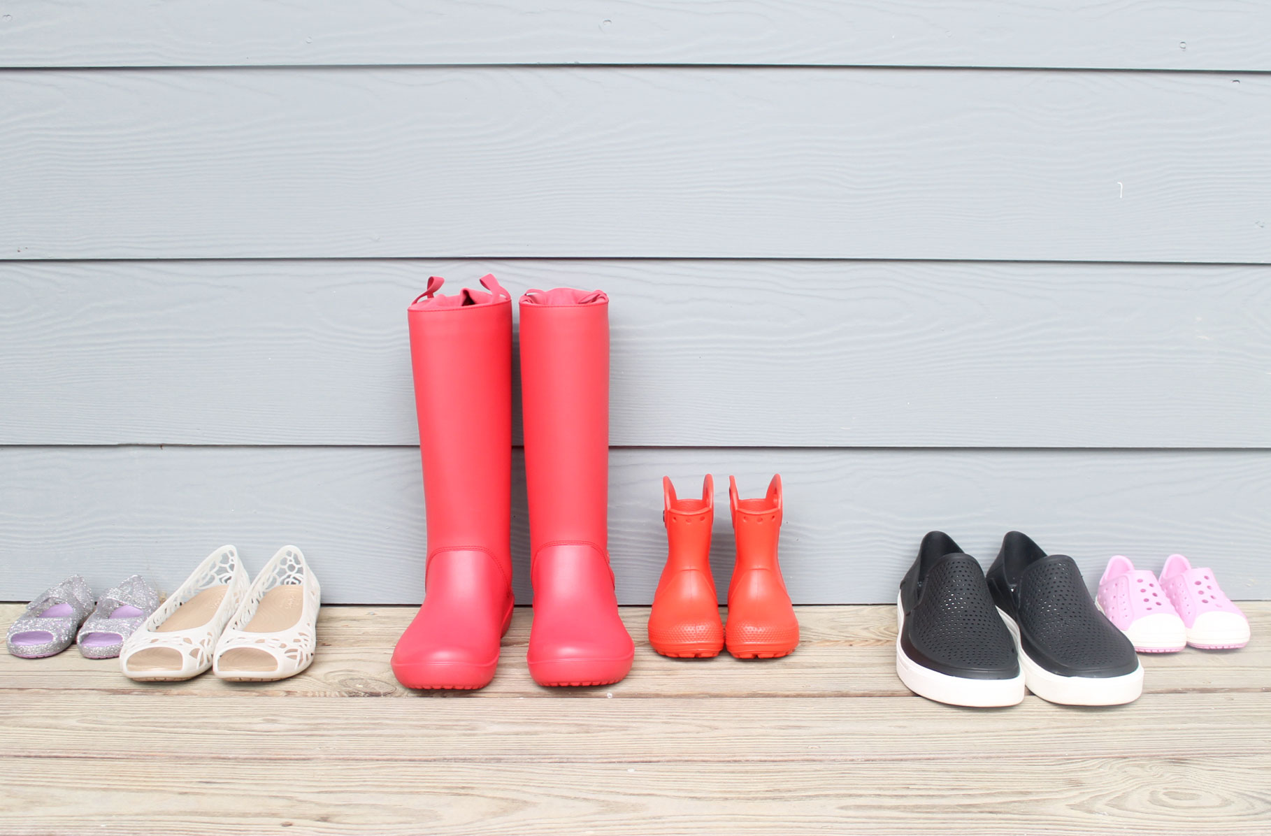 Crocs for the whole family!
