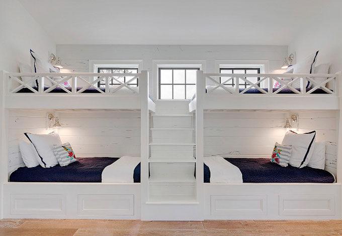The Dreamiest Coastal Home in Seagrove Beach - Bunk Beds