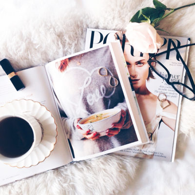 magazines coffee rose makeup