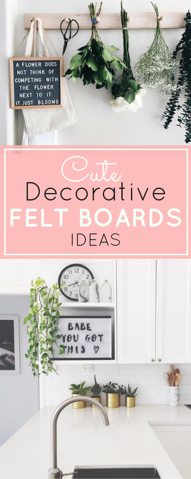 The Coolest Customizable Art: Felt Letter Boards and Black Light Boxes, plus where to buy them. | glitterinc.com | @glitterinc
