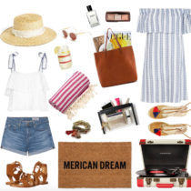 Fourth of July Americana Summer Barbecue Look