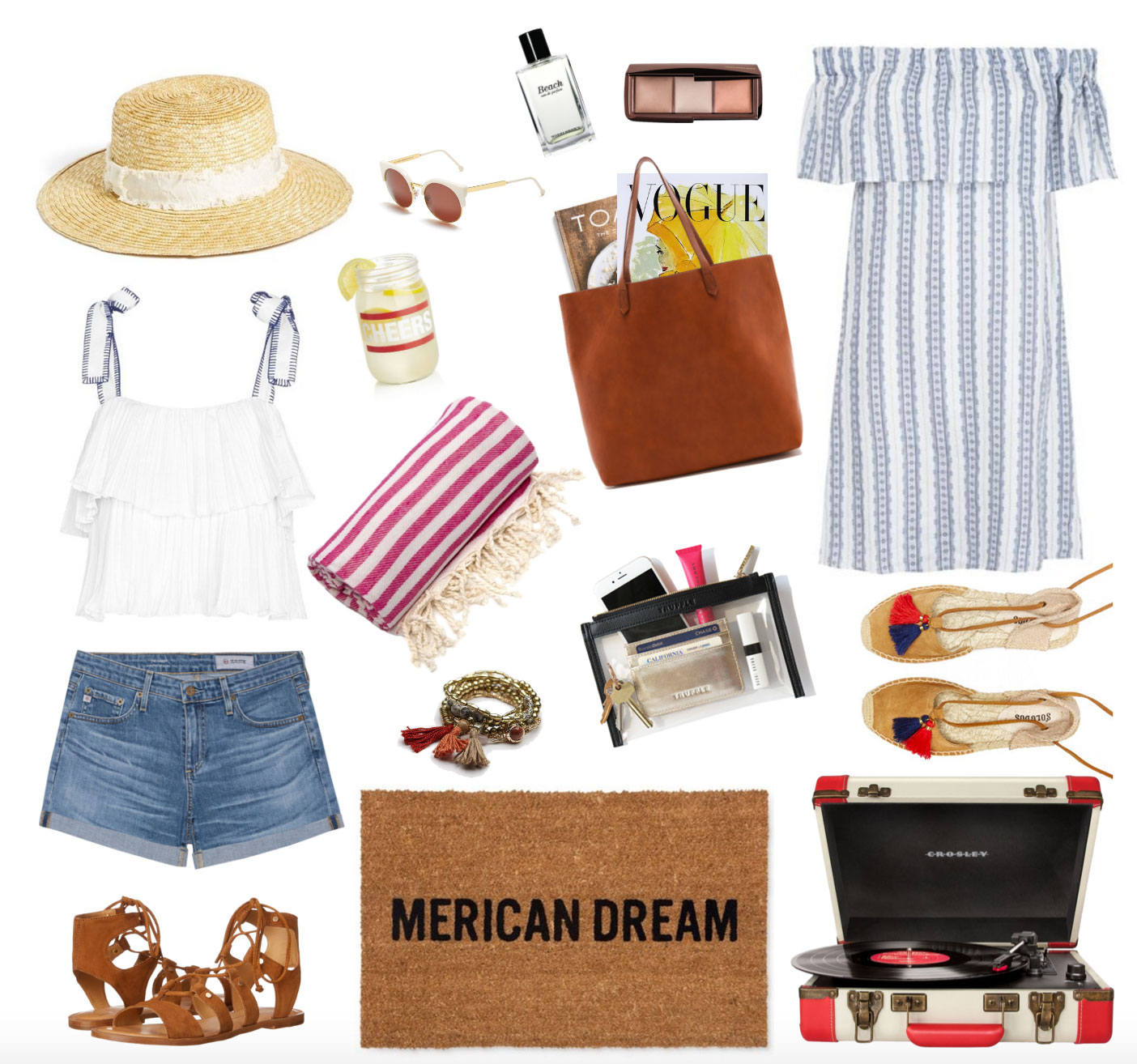 What to Wear This Fourth of July: July 4th Americana Summer Barbecue Look