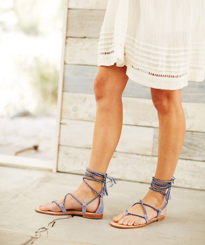 7 Summer Trends to Try Now (Like these adorable wrap sandals!)