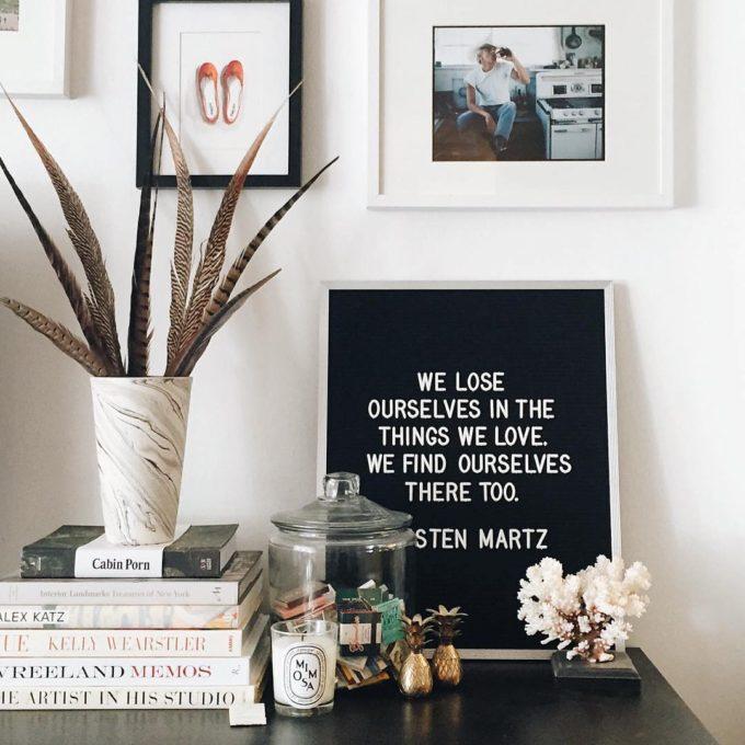 The coolest customizable art felt letter boards and black light customizable letter shelves