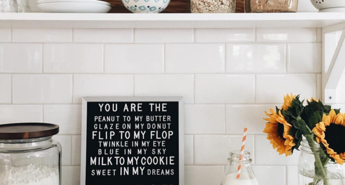 You are the Peanut to my Butter Kitchen Sign