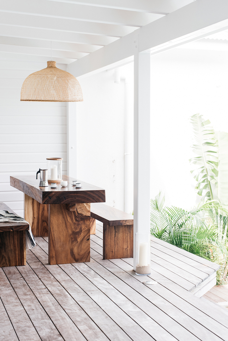 Villa Palmier Beach House in St. Barts - Dining Room