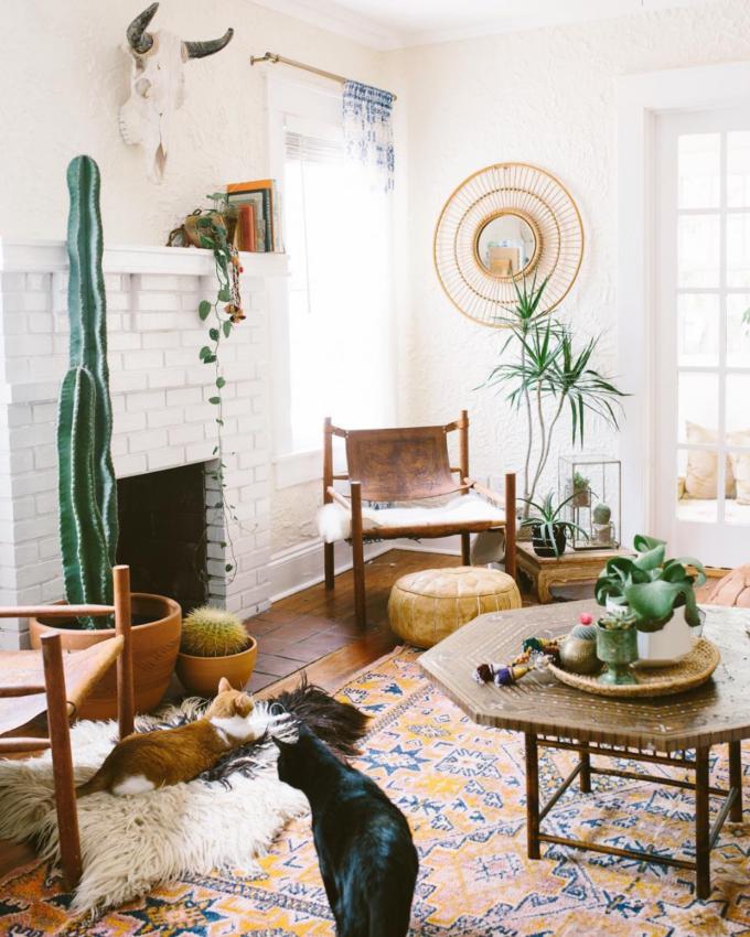 Get Inspired: The DIY White Brick Fireplace | Glitter, Inc.Glitter ...