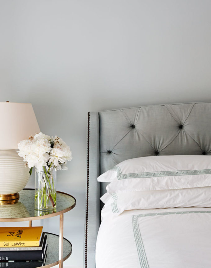 A Simple Way to Brighten Your Bedroom for Summer (Brooklyn Townhouse Bedroom with Flowers)