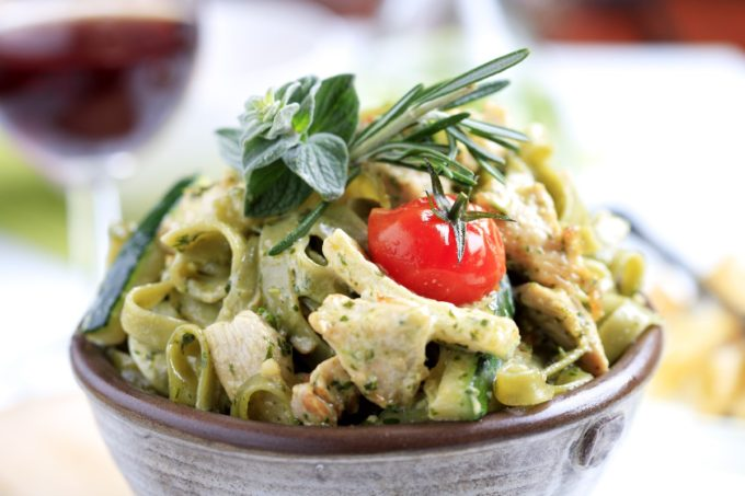 15 Amazing Zucchini Recipes You Haven't Tried Before, like this Chicken Zucchini Alfredo