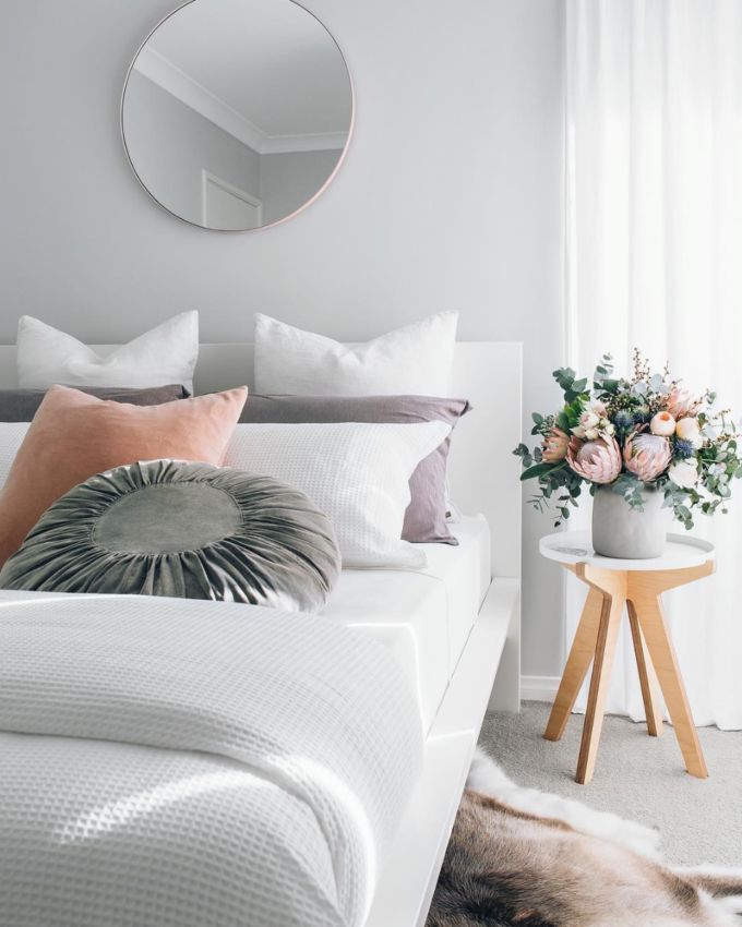 A Simple Way to Brighten Your Bedroom for Summer