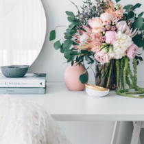 Gorgeous Flowers in an Office