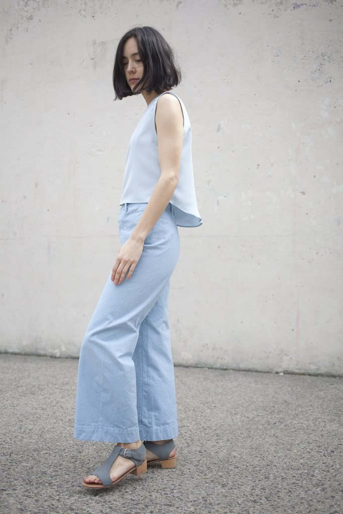 Have you tried the cropped wide leg pants trend? Majorly cute, and with plenty of 70s vibes, the shape is actually much more flattering than you'd think.