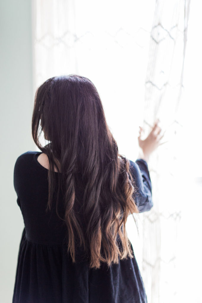 Brunettes: Here's How to Easily (and Subtly) Lighten Your Hair at Home for that Perfect Sun-Kissed Glow (without any brassiness, right in your shower!)