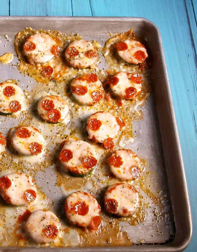 15 Amazing Zucchini Recipes You Haven't Tried Before, like these Zucchini Pizza Bites (a.k.a., a perfect no-carb snack!)