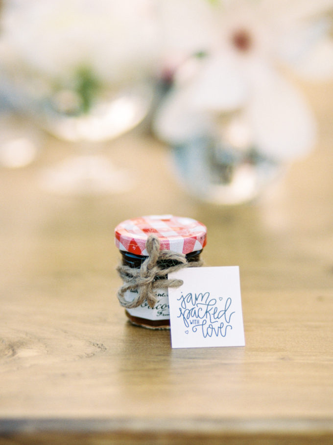 """Outdoor Styled Southern Dinner Party - Behind-the-Scenes of a Styled Shoot (Jelly Jars, """"Jam-packed with love."""")"""