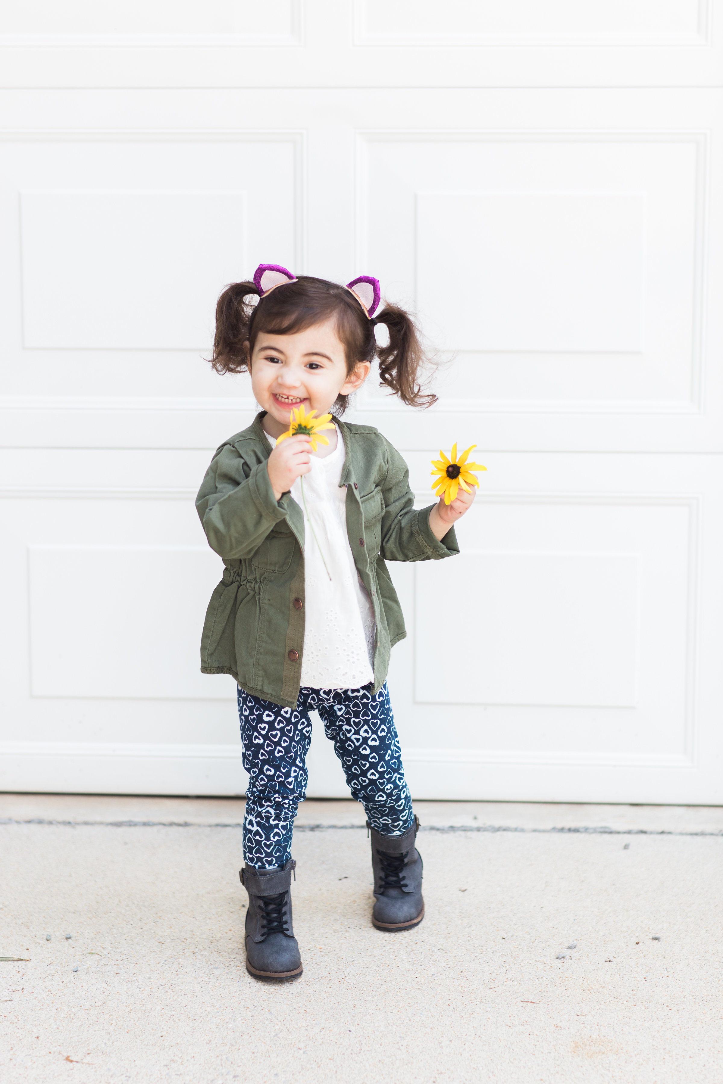 Back-to-School with OshKosh B'gosh - On Her Very First Day of School