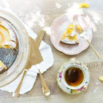 Homemade-Summer-Peach-Cake-and-Tea