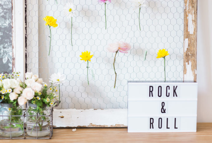 Behind-the-Scenes of a Bohemian Backyard Birthday Party Festival. Click through for the details. | glitterinc.com | @glitterinc