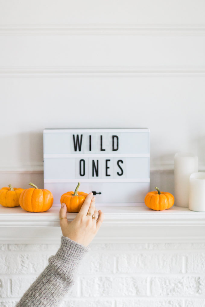 It's Halloween weekend! Read up on a few little love notes to the things I loved most this week plus our weekend plans. | glitterinc.com | @glitterinc