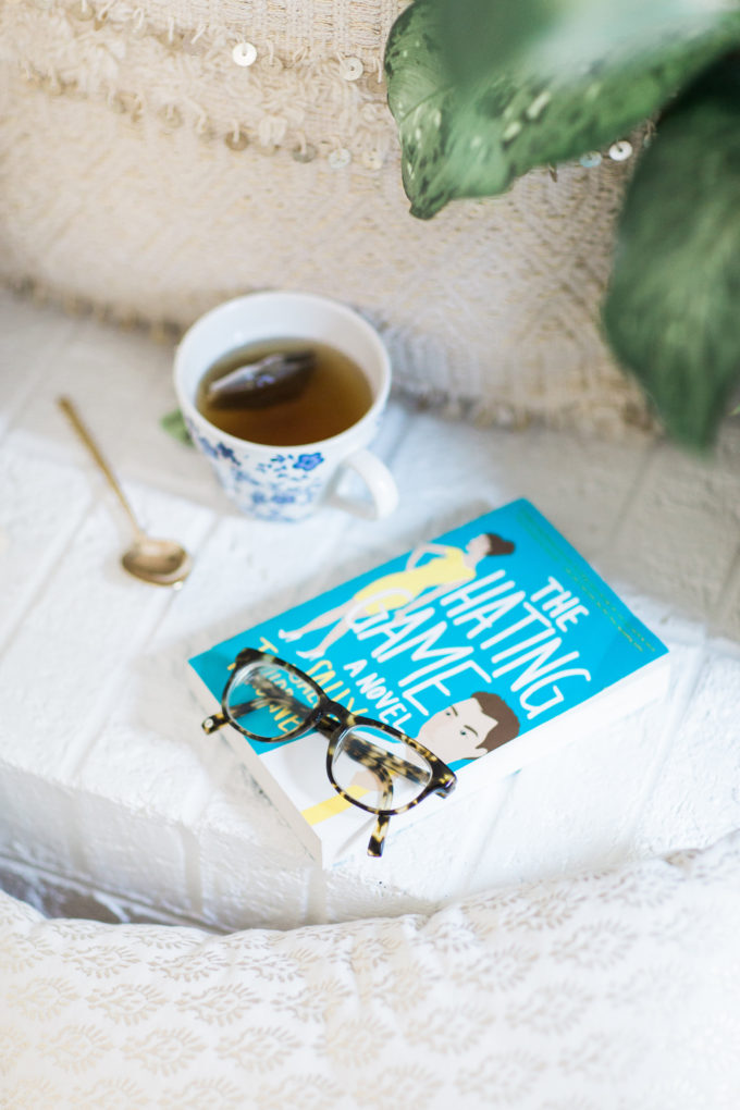 Book Club: The Hating Game by Sally Thorne. (Because this book is AWESOME.) Join the conversation and let us know what you think with #GlitterBookClub! | glitterinc.com | @glitterinc