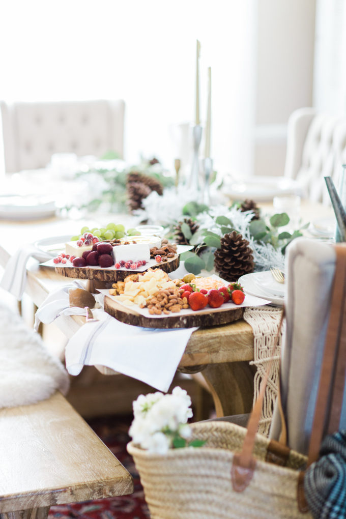 How to Make An EPIC Southern-Inspired Charcuterie Cheese Board (the easy way). Click through for the how-to.   glitterinc.com   @glitterinc